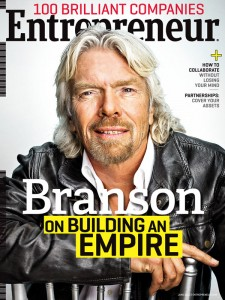 Entrepreneur Richard Branson