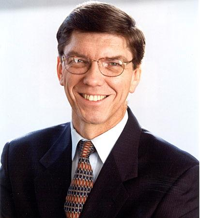 Clayton Christensen, Harvard Business School professor and author of The Innovator's Dilemma, says Tesla, Apple, VCs and universities all face big disruptive threats.